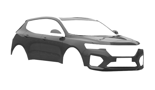 Цвета кузова Haval H4 Blue Label